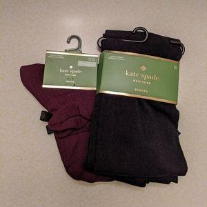 Kate Spade tights and socks